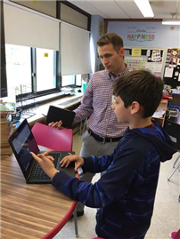 Merrick Continues to Model Personalize Learning Through Technology photo 3