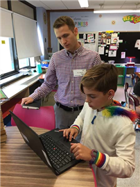 Merrick Continues to Model Personalize Learning Through Technology photo 4