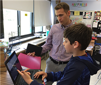 Merrick Continues to Model Personalize Learning Through Technology photo
